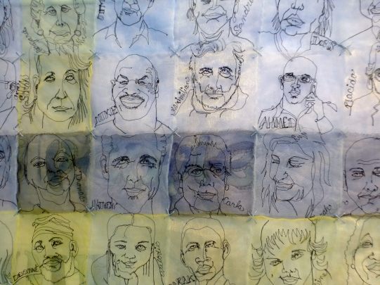 Maria Stoller_...all the people..._Detail