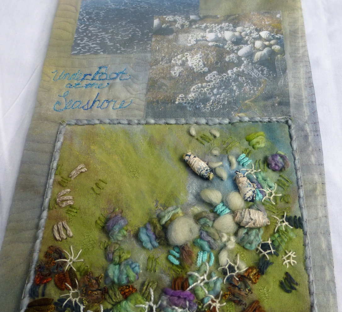 Underfoot at the Seashore - detail 4
